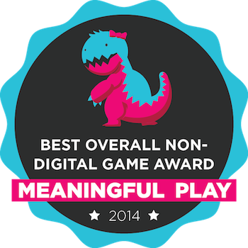 Meaningful Play Best Overall Non-Digital Award, 2014